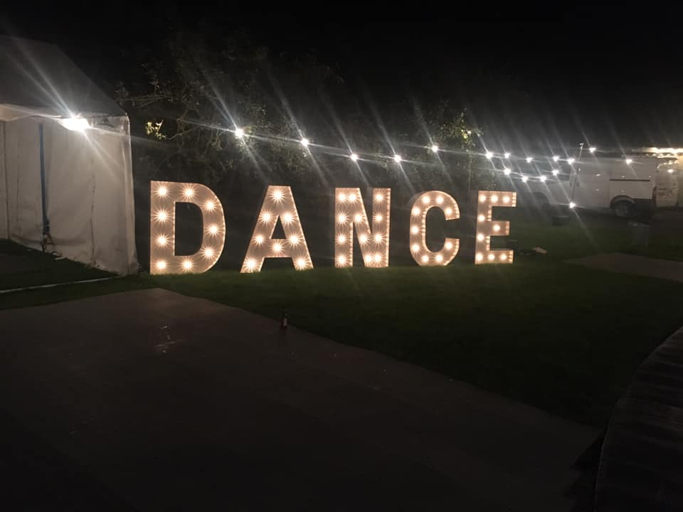 New Product! 4ft illuminated letters, numbers and hashtags